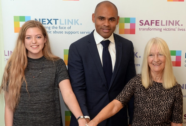 Marvin Rees, Mayor of Bristol launches the new Next Link enhanced service for victims of domestic abuse and violence.