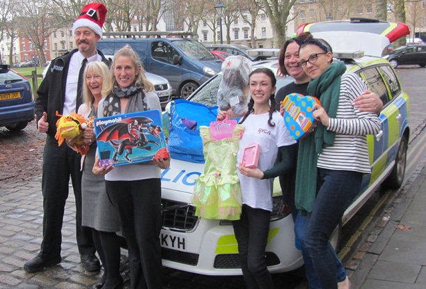 Just some of the amazing people who have donated festive gifts for the women and children in our safe houses. Thank you to everyone who made donations.